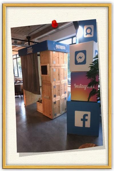 onze Photobooth huren bij Facebook Festival in Amsterdam